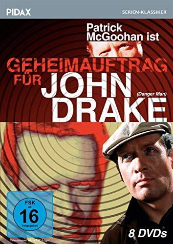 Geheimauftrag für John Drake (Danger Man) / 39 Folgen der kultigen Agentenserie mit Patrick McGoohan