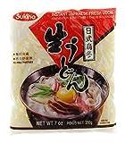 Sukina Fresh Japanese Instant Udon Noodles (6 x 200 g)