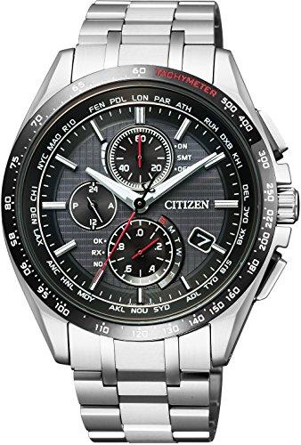 [シチズン] 腕時計 アテッサ Eco-Drive エコ・ドライブ電波時計 日中米欧電波受信 ダイレクトフライト AT8144-51E メンズ