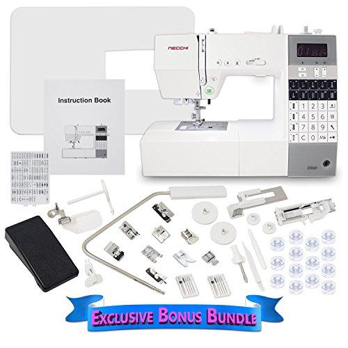 Buy Bargain Necchi EX60 Computerized Sewing Machine with Exlcusive Bonus Bundle