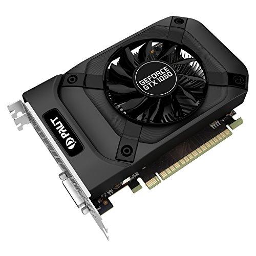 Palit GeForce GTX 1050 StormX GeForce GTX 1050 2GB GDDR5 - Tarjeta gráfica (NVIDIA, GeForce GTX 1050, 4096 x 2160 Pixeles, 1354 MHz, 1455 MHz, 2 GB)
