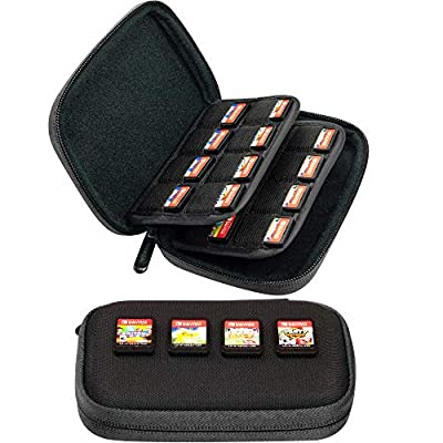 Butterfox 32 Switch Game Case for Nintendo Switch, Switch Game Card Storage Holder or SD Memory Card Case (Black)