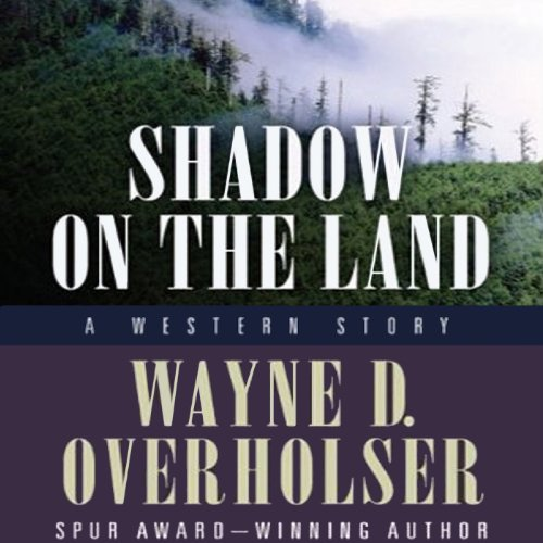 Shadow on the Land audiobook cover art