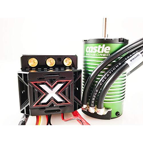 Castle Creations 010-0145-03 Monster X 25.2V ESC, 8A Peak BEC with 1515-2200 kV Sensored Motor