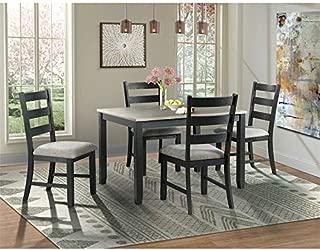 Picket House Furnishings Kona Gray 5PC Dining Set