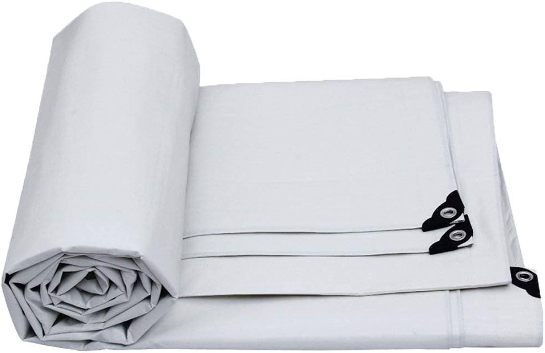YANQ YANQ YANQ Weiße PVC-Plane, Wasserdichte Prime Roof Plane Abdeckung Garten Regen Abdeckung, Boden Tuch, Camping Plane für Zelt Winddicht feuchtigkeits (Farbe   Weiß, größe   1000  800CM) B07PKPM72J  Won hoch geschätzt und weithin ve 5bc6b9