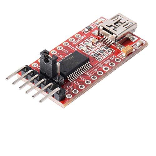 FTDI Adapter FT232RL USB zu TTL Serial für 3,3V und 5V für Arduino PRO Mini
