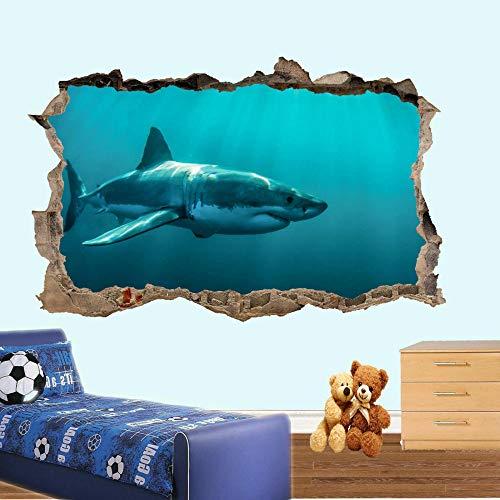 Wandtattoo Jaws wall stickers 3d art poster mural decal wallpaper