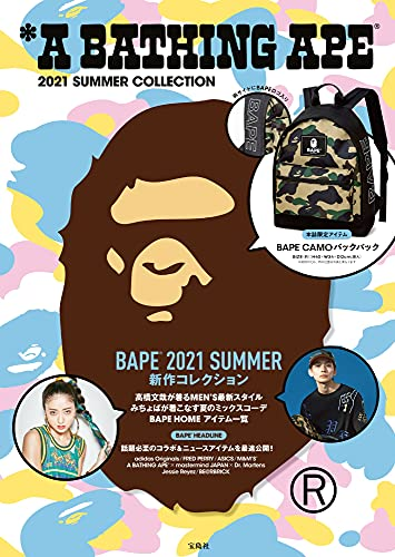 A BATHING APE® 2021 SUMMER COLLECTION (宝島社ブランドブック)の詳細を見る