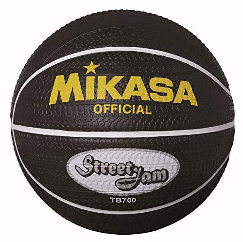 MIKASA TB700Street Jam Baloncesto, Negro, 7