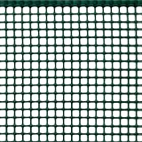 Tenax Quadra 10, Grün, 1,00 x 10 m, Kunststoffnetz, quadratisch, Schutz für Balkone, Tore und Zäune