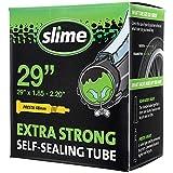 Slime 30073 Cámara Interior de Bicicleta con Sellante de Pinchazos Slime, Sellado Autónomo, Prevenir y Reparar, Válvula Presta, 47/54 - 622mm (29'x1,85-2,20')