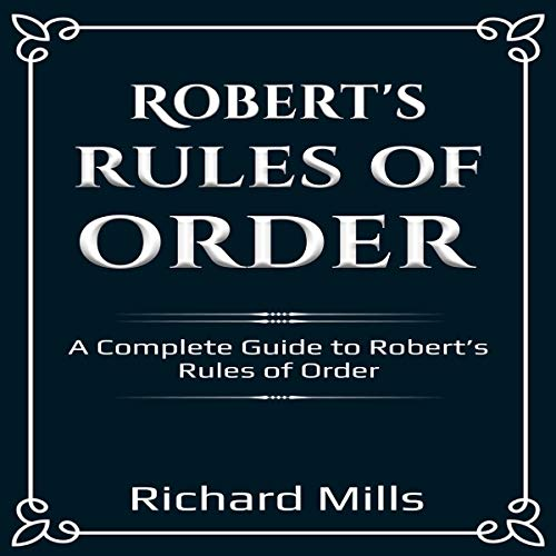 Robert's Rules of Order  By  cover art