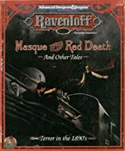 Masque of the Red Death and Other Tales (AD&D 2nd Ed Roleplaying, Ravenloft, Expansion, 1103)