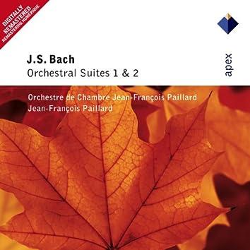Bach, JS : Orchestral Suites Nos 1 & 2  -  Apex