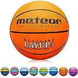 Pallone Basket Palla da Basket Basketball Taglia 4 - Dimensione Bambini Giovani da Basket Ideale per Formazione - Gonfiabili Pallacanestro Mini con Superficie Antiscivolo Layup (4, Arancione)