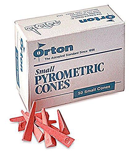 Pyrometric Cones For Monitoring Ceramic Kiln Firings-Cone 05 (1 Pkg/50)