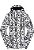 HSW Jackets for Women Ski Jacket Women Winter Snow Coats for Women Black Waterproof