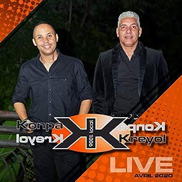 Konpa Kreyol (Live Avril 2020)