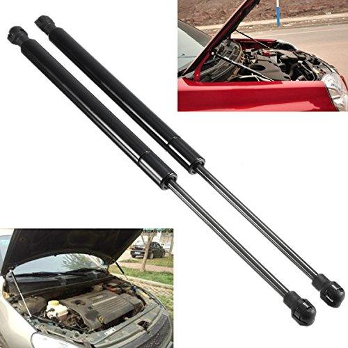 GOZAR auto voorzijde kap gas lift ondersteuning schok strut zwart 2 Stks voor BMW E90 E91