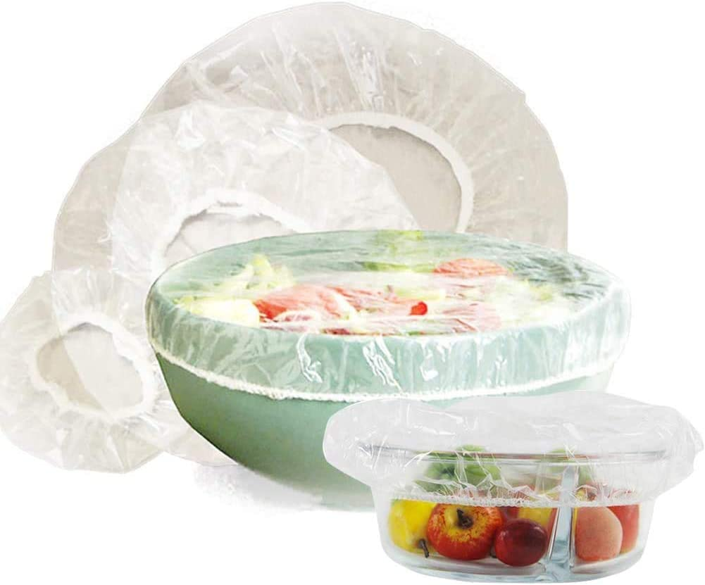 HarrierWing Louisville-Jefferson County Mall 120PCS Reusable Elastic Bowl Food Max 41% OFF Cover Pla Plastic