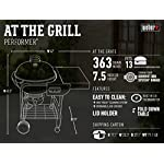 Weber 15301001 Performer Charcoal Grill, 22-Inch, Black 5