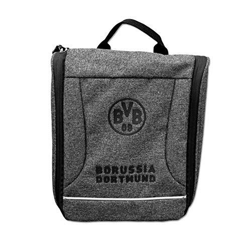 Details zu PUMA BVB evoPower Wash Bag Kosmetiktasche Kulturbeutel Gelb Schwarz Neu