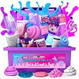 Original Stationery Mini Unicorn Slime Kit para Niñas Niñas - Fabrica Slime de Unicornio, de...