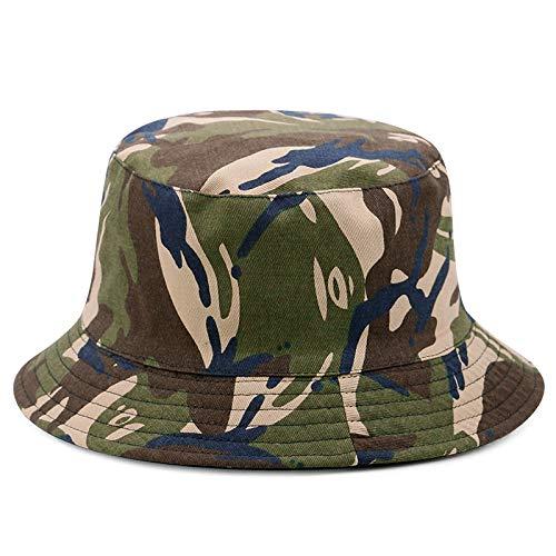 wtnhz Modeartikel - Hut-Karierter Fischerhut für Männer und Frauen im Freien, beide Seiten können einen Sonnenhut und einen zusammenklappbaren Sonnenschutzhut tragen