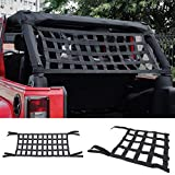 Dyda6 Rete cargo in rete, comoda ed elastica per tettuccio auto, per Jeep Wrangler YJ TJ J...