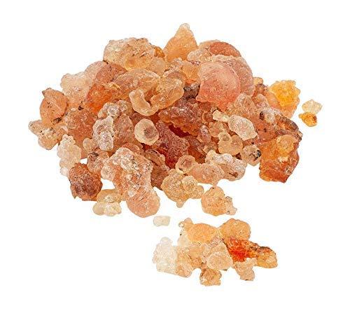 Gomme arabe en résine - Colle comestible naturelle - Gomme directe de qualité supérieure - Résine pure séchée