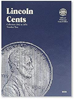 Coin Folders Cents: Lincoln Collection 1941-1974: 2 (Official Whitman Coin Folder)