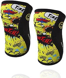 BB BANBROKEN Rodilleras Camo 2.0 Halterofilia Running y Otros Deportes Crossfit - 5mm Knee Sleeves Levantamiento de Pesas 1 PAR 2 unds Unisex. Deporte Funcional