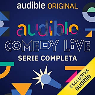 Audible Comedy LIVE. Serie completa copertina