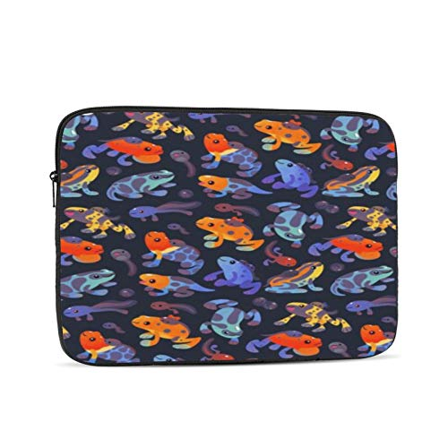 Poison Dart Frogs 10-17 Inch Classic Computer Bag Laptop Case Carrying Bag Chromebook Case Notebook Bag Tablet Cover,17 inch