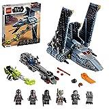 LEGO 75314 Star Wars La Navette d'Attaque du Bad Batch, Jouet pour Enfants de 9 Ans et Plus avec 5 Figurines LEGO Star Wars