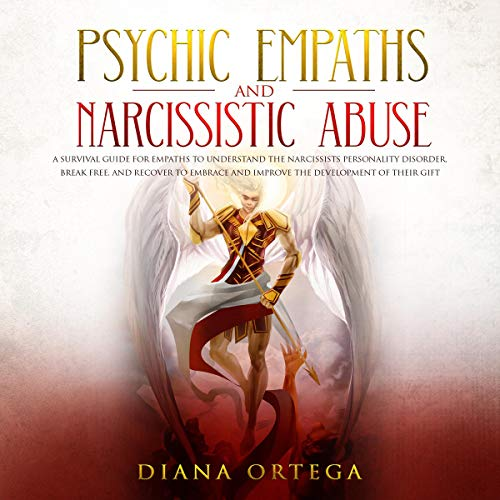 Psychic Empaths and Narcissistic Abuse audiobook cover art