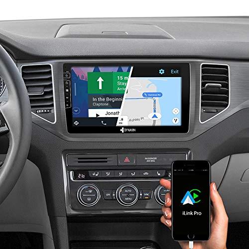 DYNAVIN Autoradio Navi für VW Golf 7 Sportsvan 2012-2020 (Silber), 10,1 Zoll OEM Radio mit Bluetooth, Inkl. DAB+, USB, Kompatibel mit Carplay und Android Auto: DX-V-135S Flex