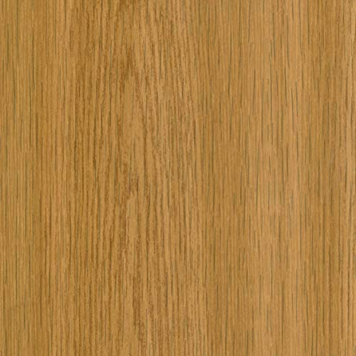Klebefolie Eiche natur Holzoptikfolie, Dekofolie, Möbelfolie, Tapete, selbstklebende Folie, PVC, ohne Phthalate, 45cm x 1,5m, Stärke 0,095mm, Venilia 53231
