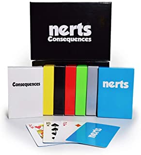 Dynasty Toys Nerts Card Game Box Set, 6 Decks of Standard Playing Cards