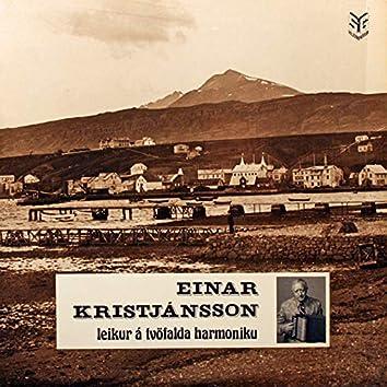 Einar Kristjánsson Leikur Á Tvöfalda Harmónikku