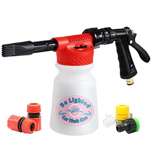 Wash Gun Car Foam Gun - Cleaning Sprayer 900ml by Be Lighted