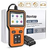 Rovtop 5 in 1 Universal Car Diagnostic Scanner Tool,OBD2 Scanner,Engine Load, Coolant Temperature