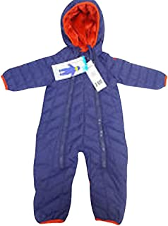 310b50ca7 Snozu Infant and Toddler Fleece Lined Ultralight Quilting One Piece Snowsuit ,Navy,9/