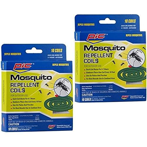 PIC Mosquito Repellent Coils 20 Each