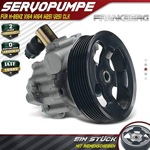 Servopumpe Servolenkung Hydraulikpumpe für CLK C209 A209 CLK320 GL-Klasse X164 GL320 GL350 M-Klasse W164 ML280 ML300 ML320 ML350 W251 V251 R280 R300 R320 R350 3.0L 2005-2012 0064663101