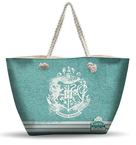 Bolsa de playa grande de 50 cm Emmy Hogwarts Alumni kid-compatible con Harry Potter