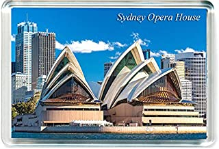 I010 Sydney Opera House Refrigerator Magnet Australia Travel Fridge Magnet