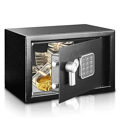 HFFSGS Caja Fuerte Segura de Seguridad de Seguridad de Seguridad, Caja Fuerte, Caja de Dinero, Caja de Dinero para el hogar, joyería de Efectivo de Oficina, Caja de Seguridad para Dinero, Caja Fuerte