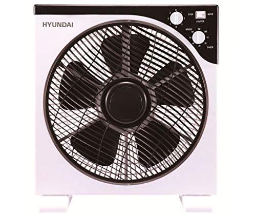 Hyundai Electrics Ventilator 30 cm Weiß/Schwarz